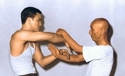 Sifu Lee & Sifu Ip