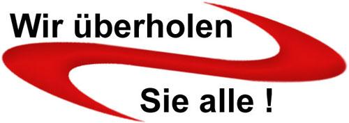 Wir überholen Sie alle - ist der Slogan der Baeckereitechnik Berhorst in Delbrück