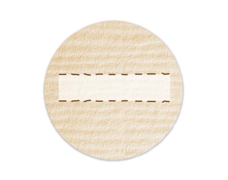 Etiketten zum selbstbeschriften - umweltfreundlich - wasserfest - beschreibbar mit wasserfestem Folienstift od. Kugelschreiber