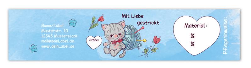 personalisierbare Baby-Sockenbanderole - mit Klebepunkten, Geschenkbanderole