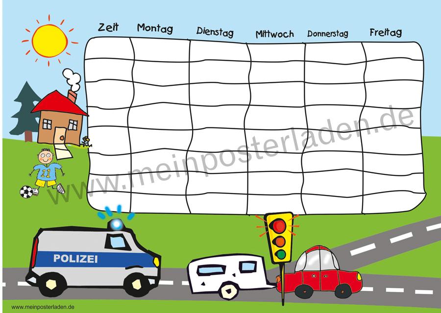 Stundenplan: Polizei