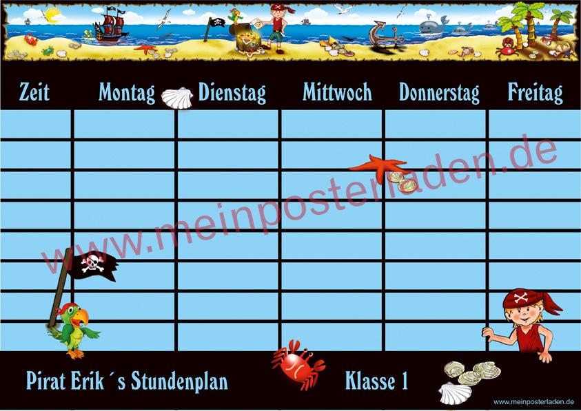 Stundenplan: Pirat