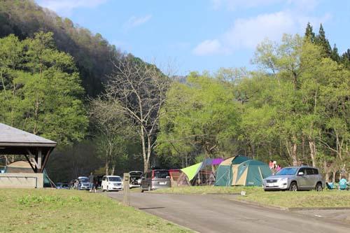 前坂キャンプ場