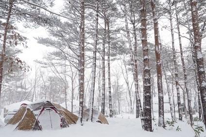 冬キャンプ