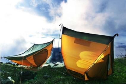 強風テント