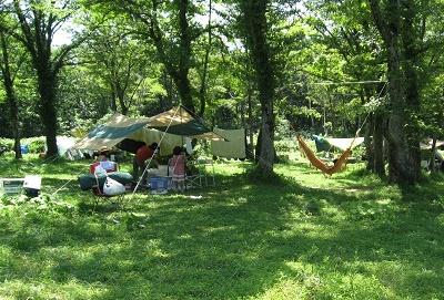 休暇村笹ヶ峰キャンプ場