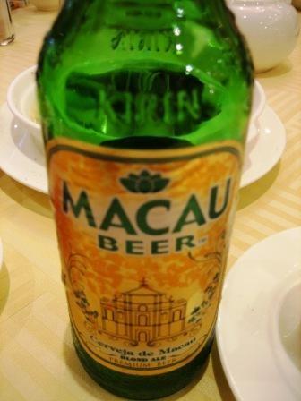 マカオビールはキリン! 慣れ親しんだ味!!