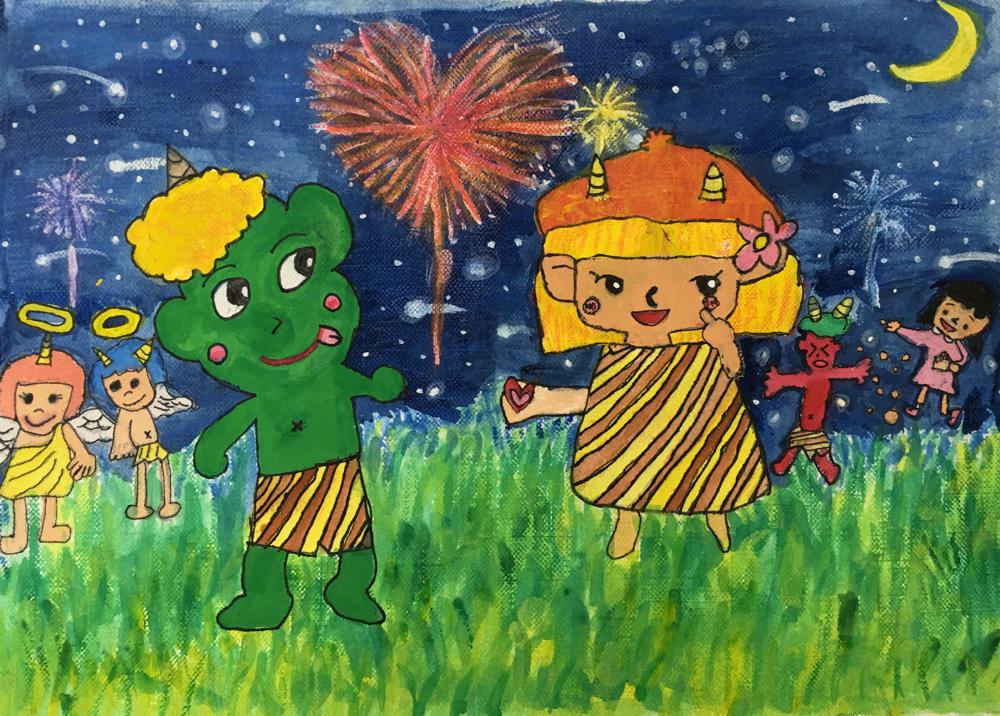 ☆ヤマハ音楽教室カレンダーコンクール 佳作 小2