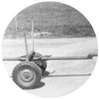 Der erste gummibereifte Anhänger im Berchtesgadener Land.