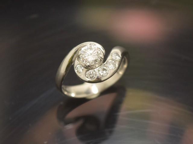 ダイヤモンドリフォームリング