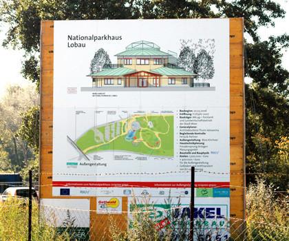 Bautafel, Digitaldruck Outdoor, Alu, 350/350 cm