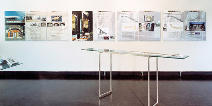 Ausstellungstafeln, Fotoausbelichtung, Alu