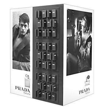 Displaymöbel, Digitaldruck, HSP, gestanzt für Produktdummies, Stecksystem 150x120x200cm