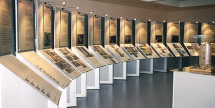 Ausstellungstafeln, Alu bedruckt
