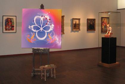 Ausstellungstafel, Fotoausbelichtung, Weichschaumplatte
