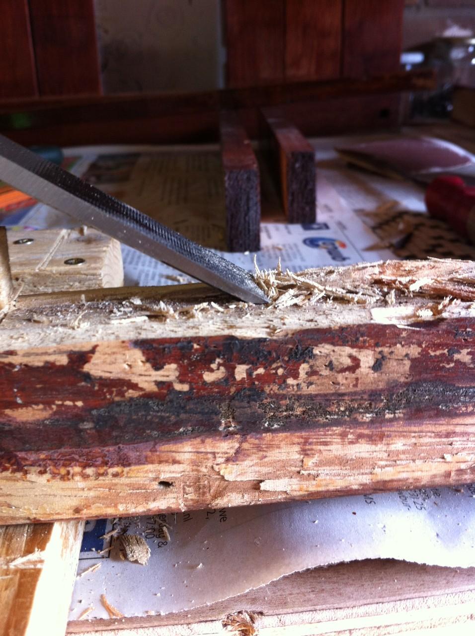 Wegsteken tot het goede hout