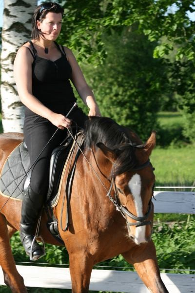 super Pferd und super Reiterin