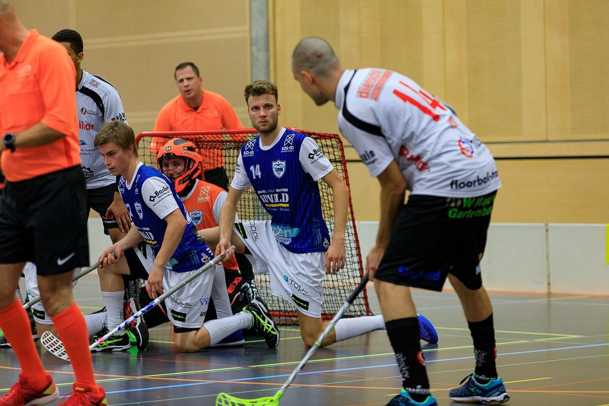Auch Unihockey in die Knie gezwungen
