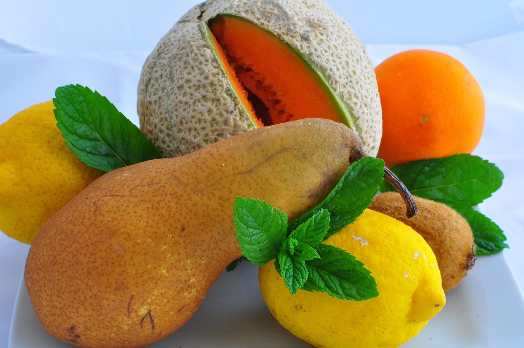 frutta fresca del Centrale