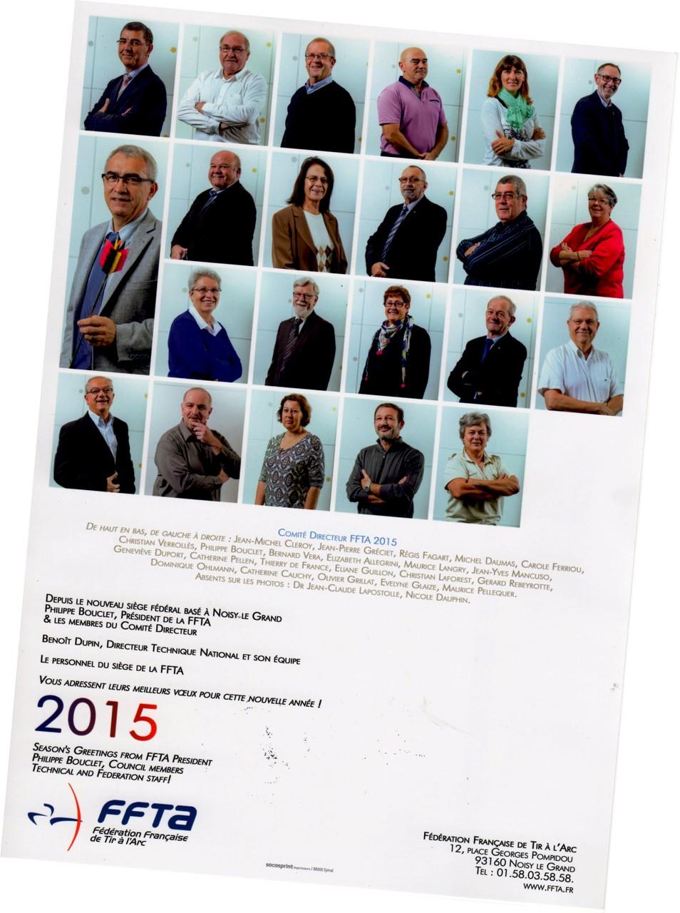 Le Comité Directeur de la FFTA