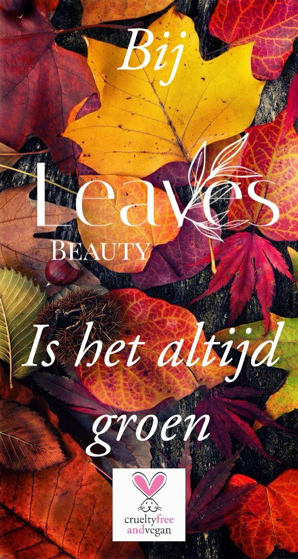 Leaves beauty is cruelty free