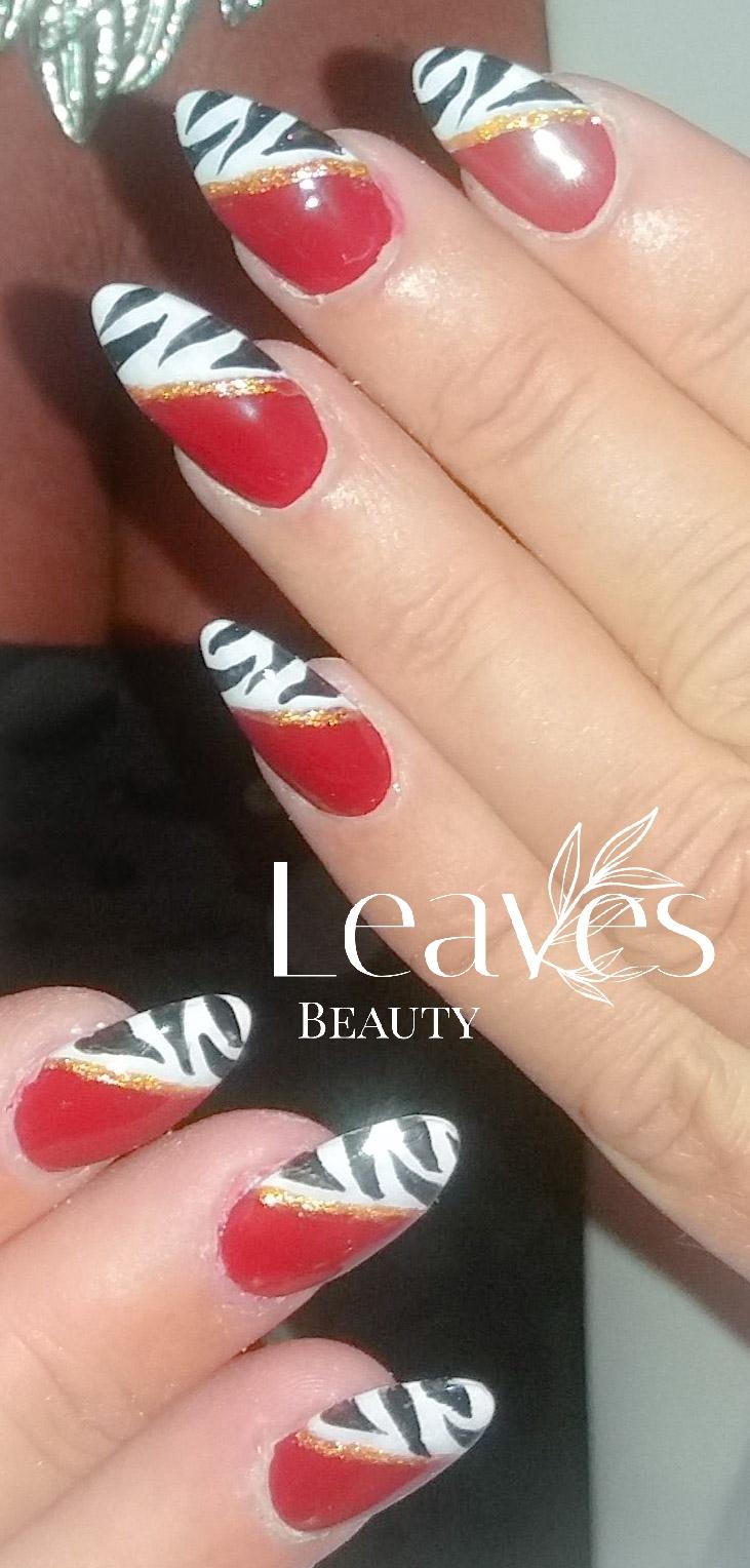 Elegante statement nail art
