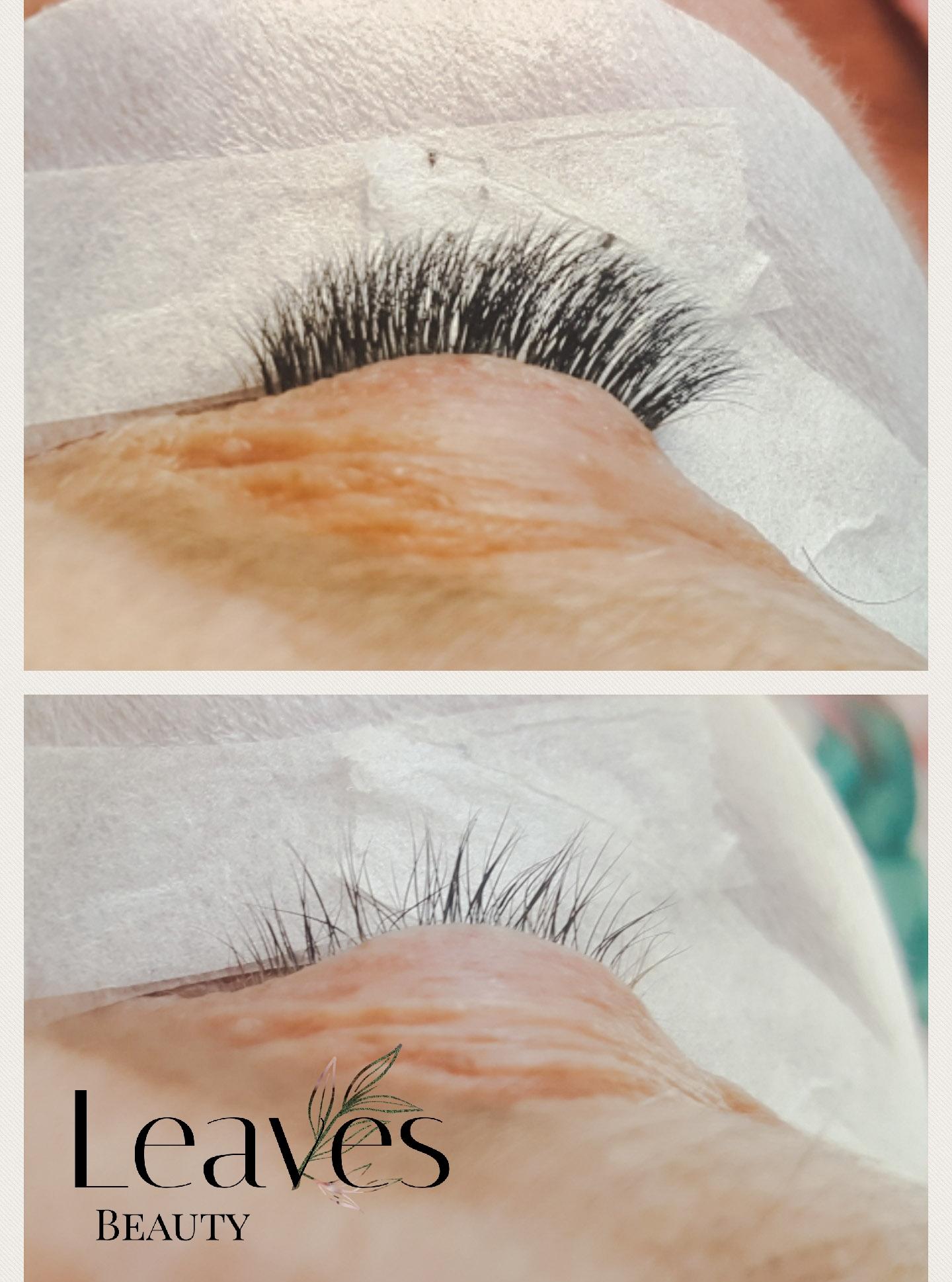 Subtiele volume lashes