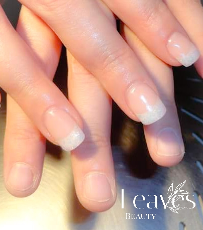 French manicure voor & na