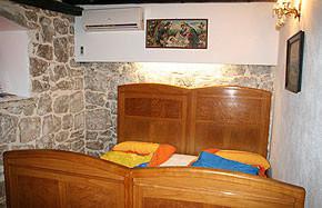 Kroatien - Ferienhaus CaptainsHaus Schlafzimmer