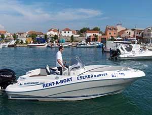 Kroatien - Insel Murter Bootsvermietung