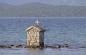 Kroatien - Kapell im Meer