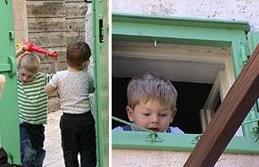 Kroatien - Kinder im Ferienhaus