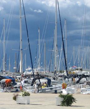 Kroatien - Insel Murter Segelboote