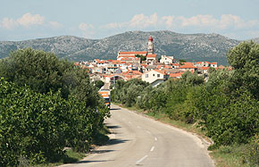 Kroatien - Ansicht Betina Ort