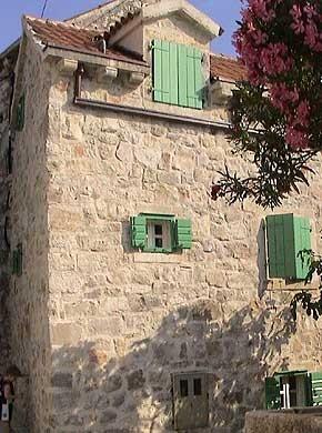 Kroatien - Ferienhaus Bounty Ansicht