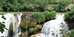 Kroatien - Wandern an den Wasserfällen
