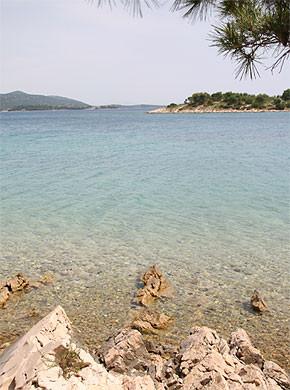 Kroatien - Insel Murter Strand