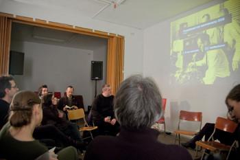 Netzwerkveranstaltung zur Medienkunst in Berlin
