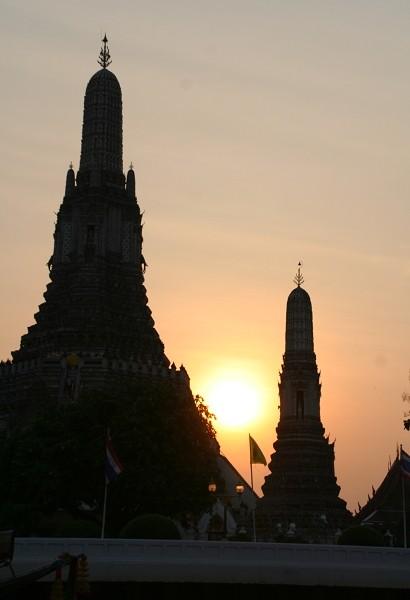 Bangkok, Tempel der Morgenröte