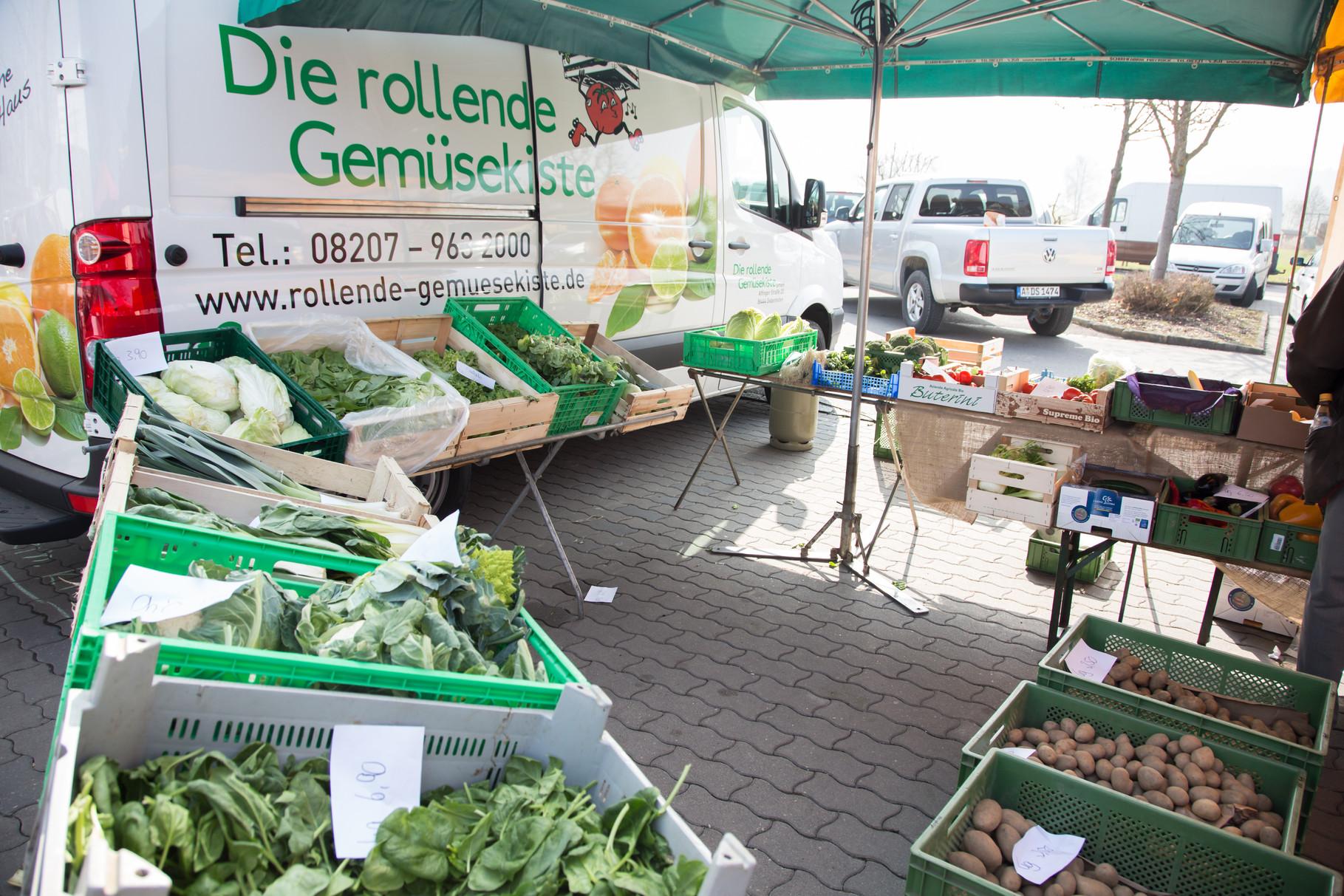 Die rollende Gemüsekiste mit überreichem Angebot
