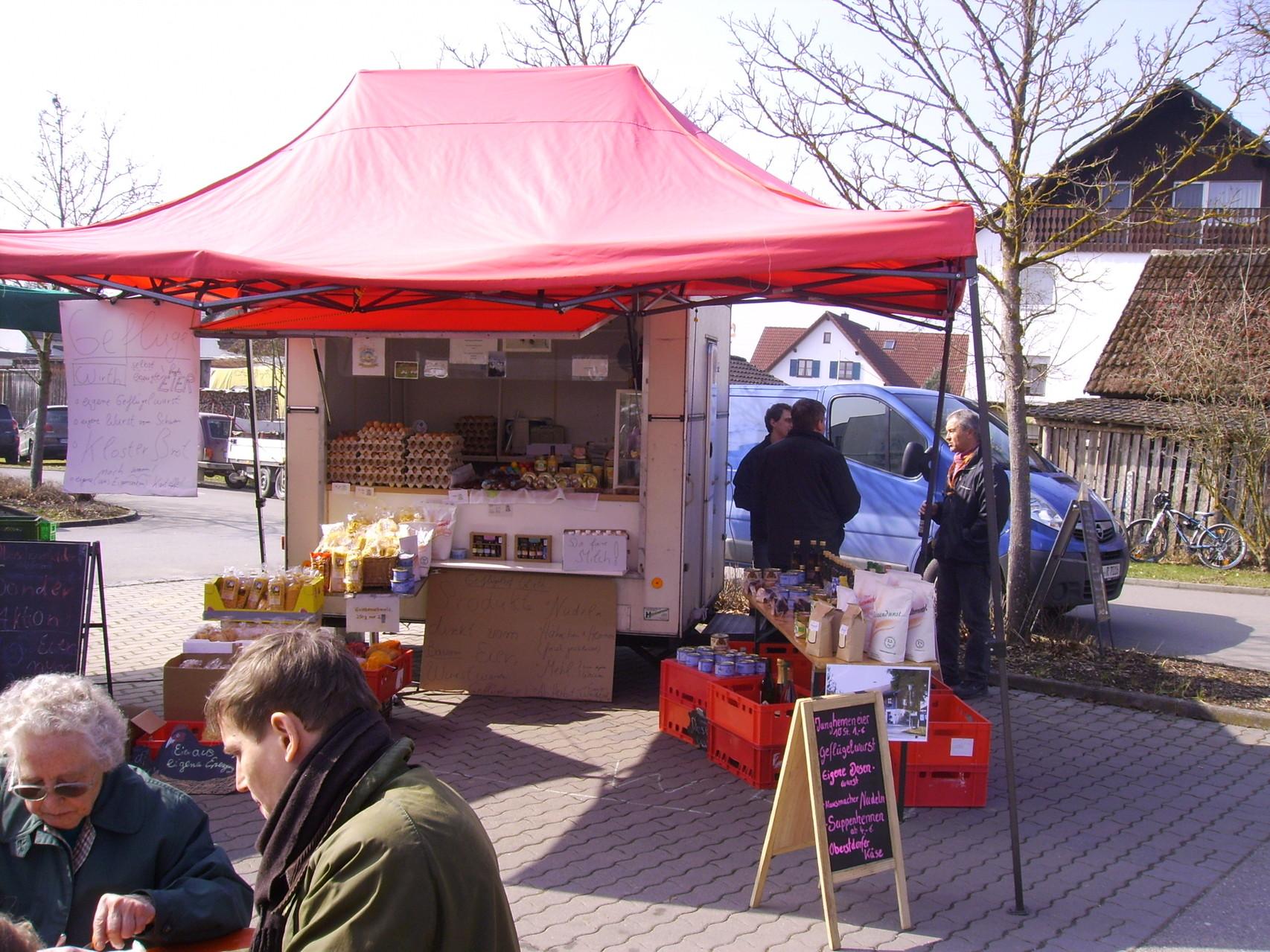 Geflügelhof Wirth mit Eiern, Nudeln, Käse u. u. u.