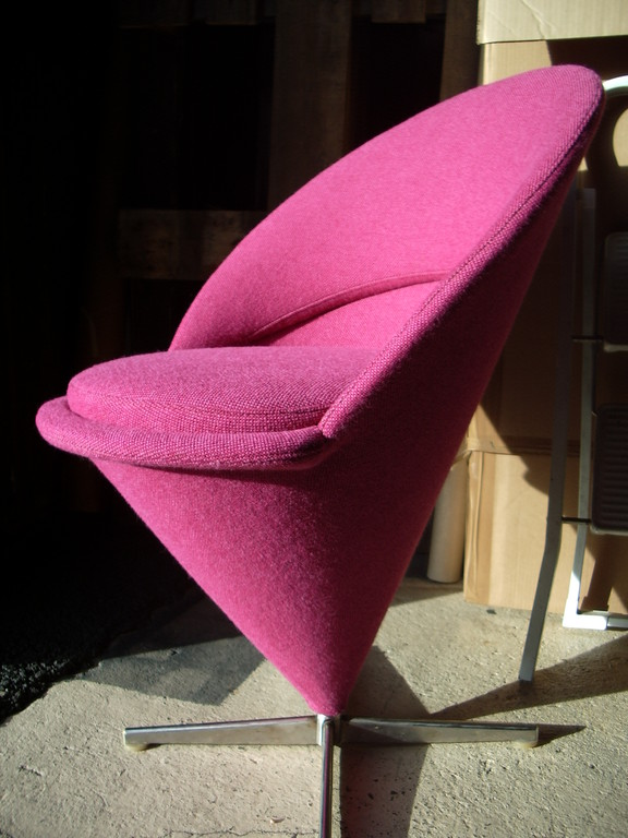 VERNER PANTON / the cone chair /TISSU   KVADRAT