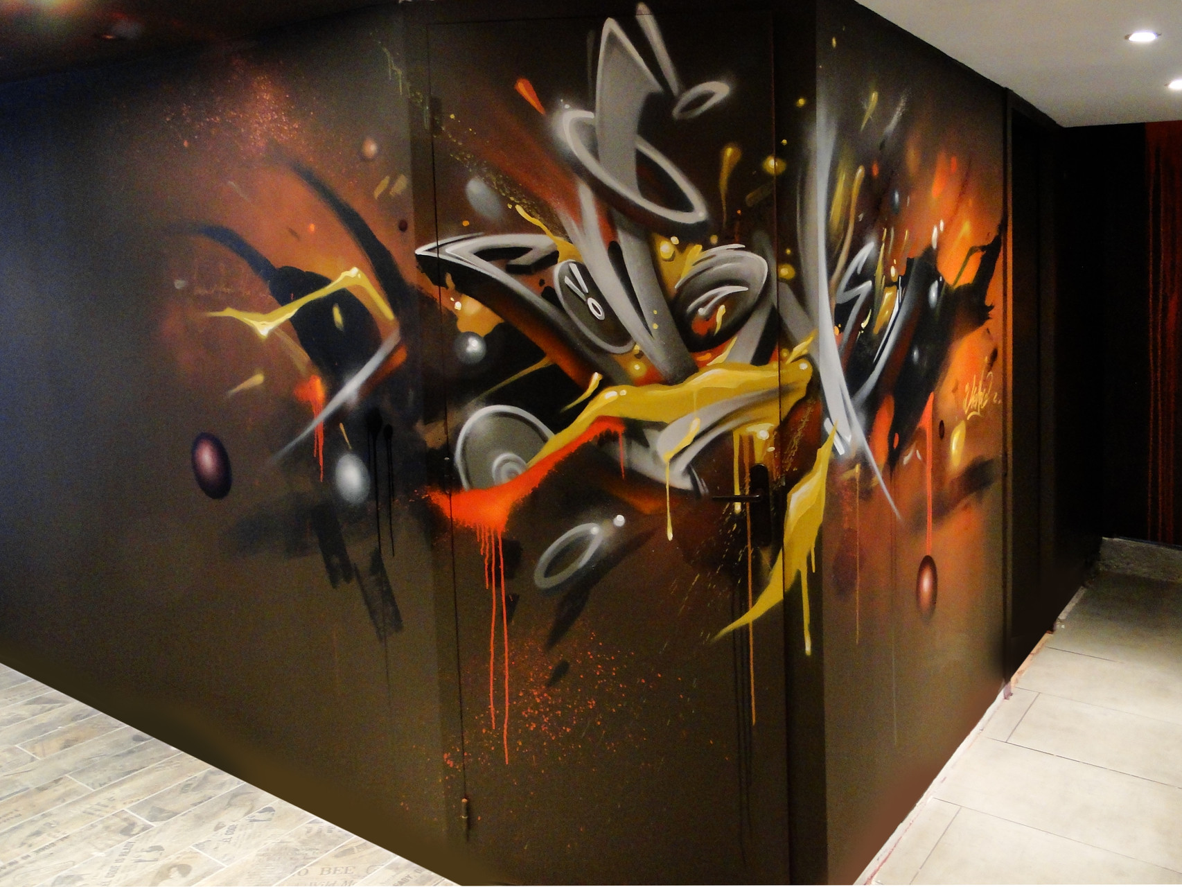Graffiti, nebula, Bayonne, design, art.