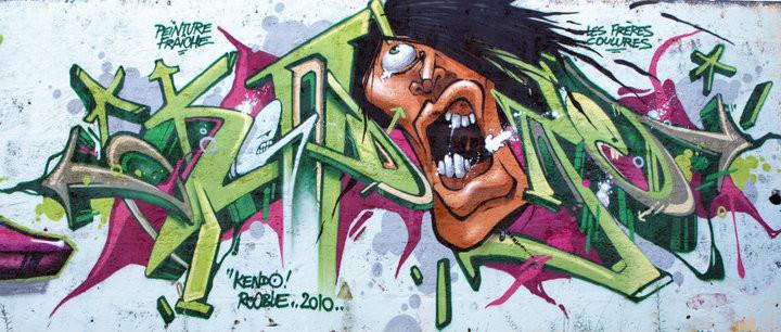 KENDO-ROOBLE. Skate Park LIBOURNE.