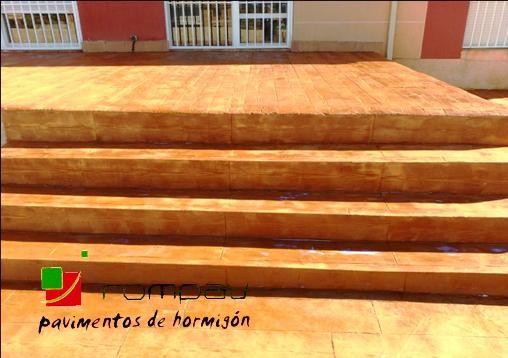 fotos escaleras de hormigon