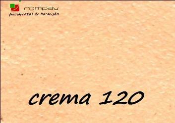impreso color crema 120 hormigon impreso