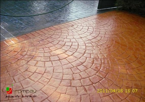 pavimento impreso bilbao