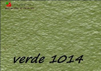 soleras he hormigon impreso color verde 1014