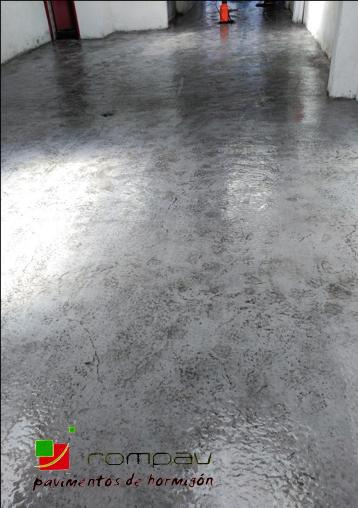Suelos de hormigon pulido para garajes