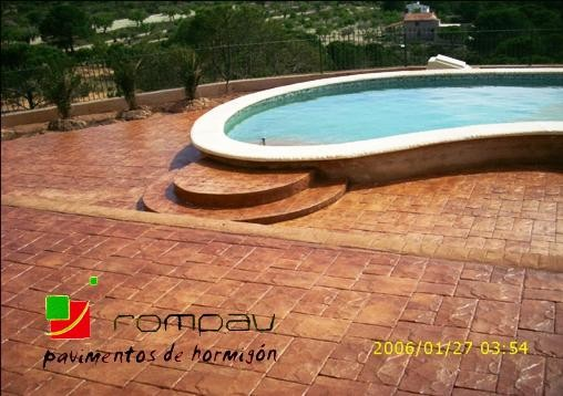 Hormigon impreso ciudad real perfect obras casas hormigon for Piscinas milanuncios
